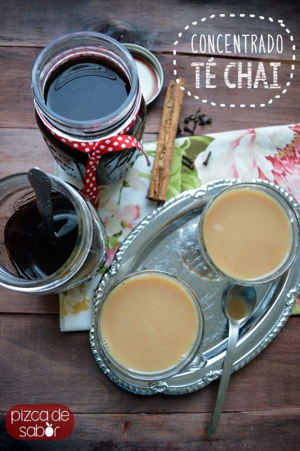 Concentrado de té chai casero  – para preparar té frío o caliente  www.pizcadesabor.com