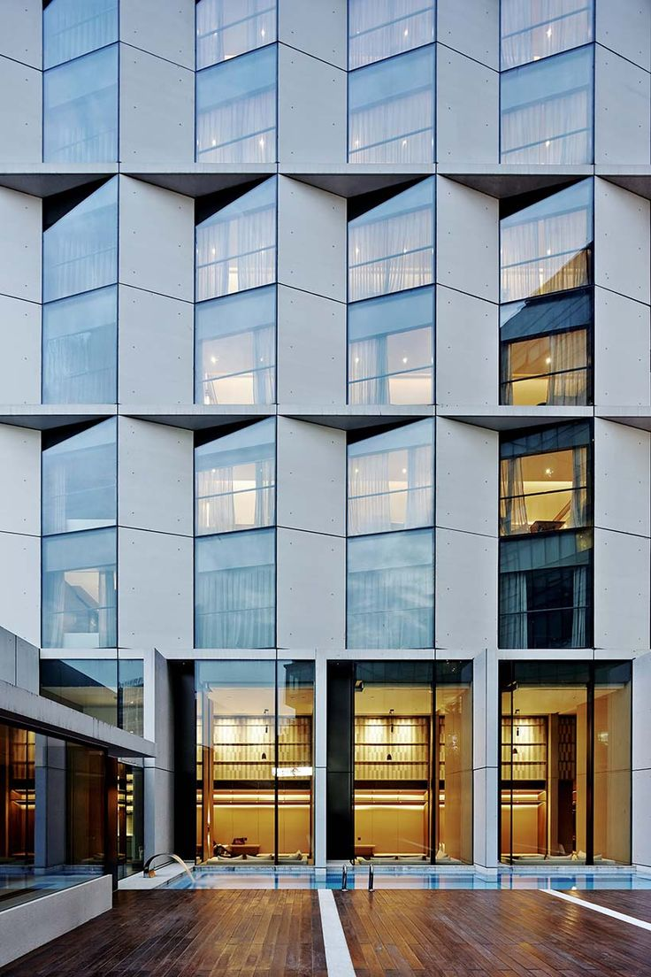 Fassade modern hotel  25+ best Facades ideas on Pinterest | Facade, Building facade and ...