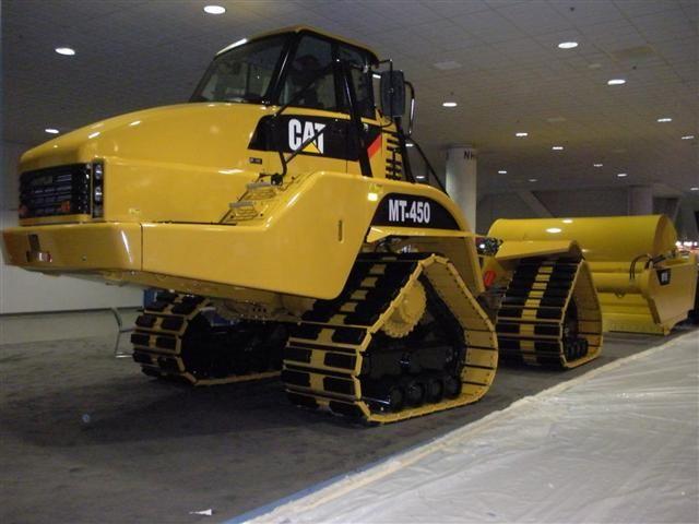 caterpillar heavy machine
