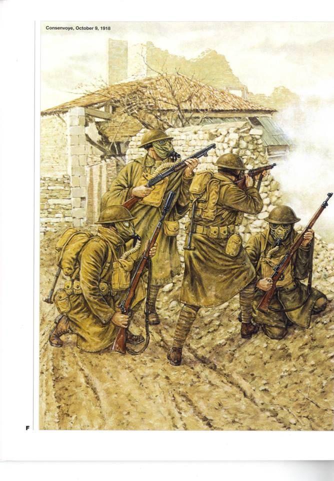 Consenvoye,Octomber,9 1918.