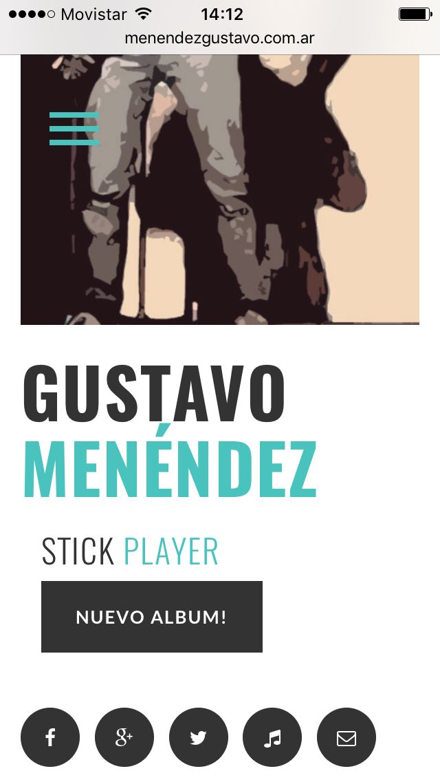 Web design stick player