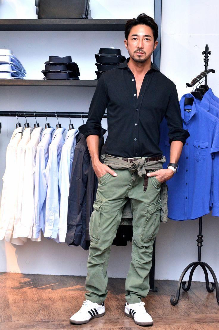 干場義雅氏がdecolloニットドレスシャツを着て下さっています。  #mens #fashion #shirts #dressshirts #knitshirts #madeinjapan #business #travel #sports #drive #golf #dance #sportswear #pilotshirts #italy #suits #narrowtie #sunglass #monochrome #black #white #decollo #decollouomo #デッコーロ #デッコーロウォモ #tokyo #modern #businessman