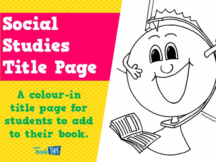 1000 Images About Teach Social Studies With Me On: 1000+ Images About Title Pages On Pinterest
