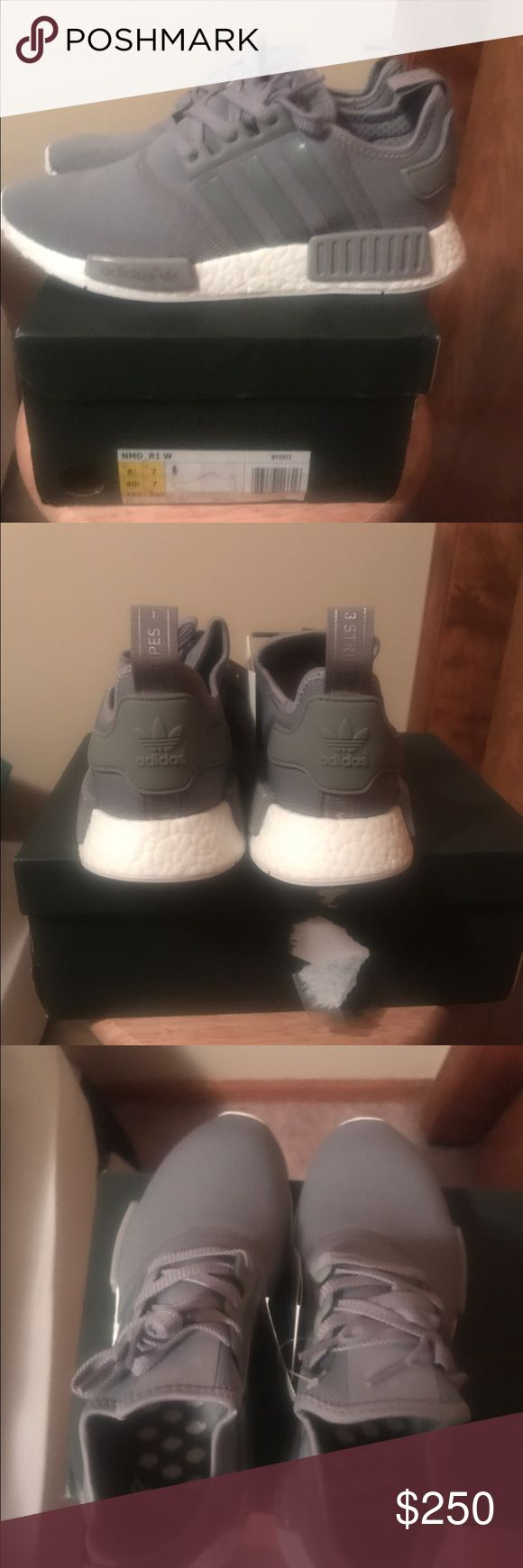 Adidas NMD Women's Size 7.5 or men's 6.5 Very nice looking shoe and can be worn by a man or woman.  Ignore my prices on this shoe or any other pair listed.  If interested please msg me at markblank00 @yahoo.com Adidas Shoes Athletic Shoes