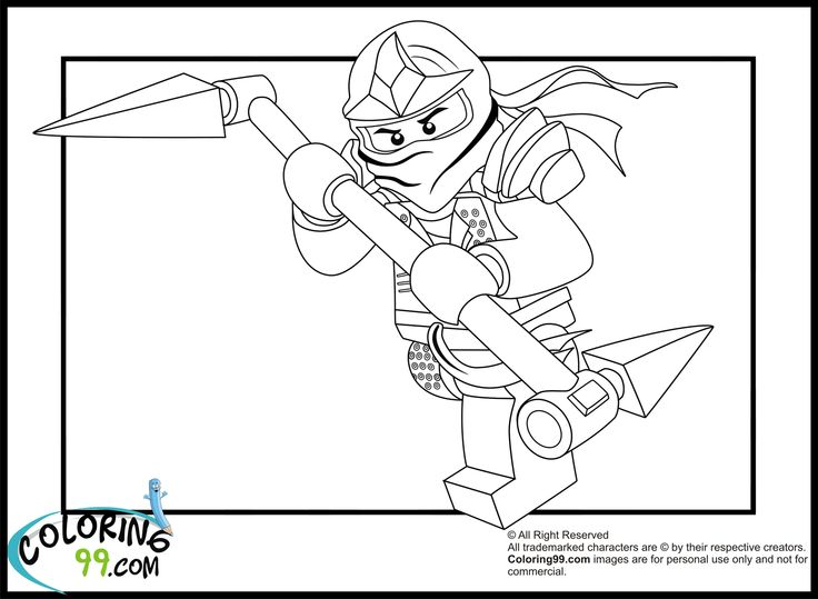 165 best images about Ninjago Coloring on Pinterest  Coloring