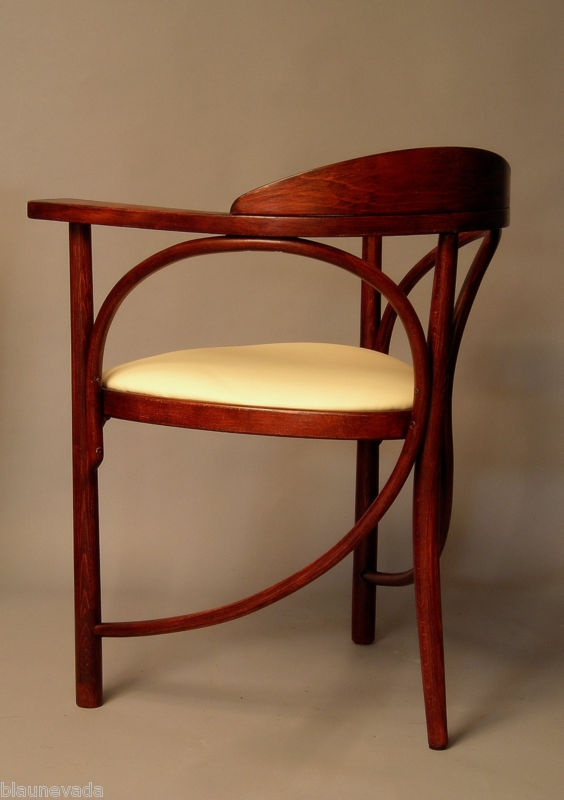 Kohn thonet sessel stuhl bugholz jugendstil art nouveau for Stuhl design thonet