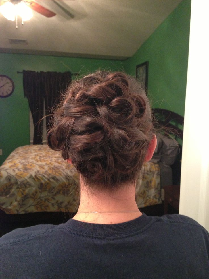 how to put s curl in your hair