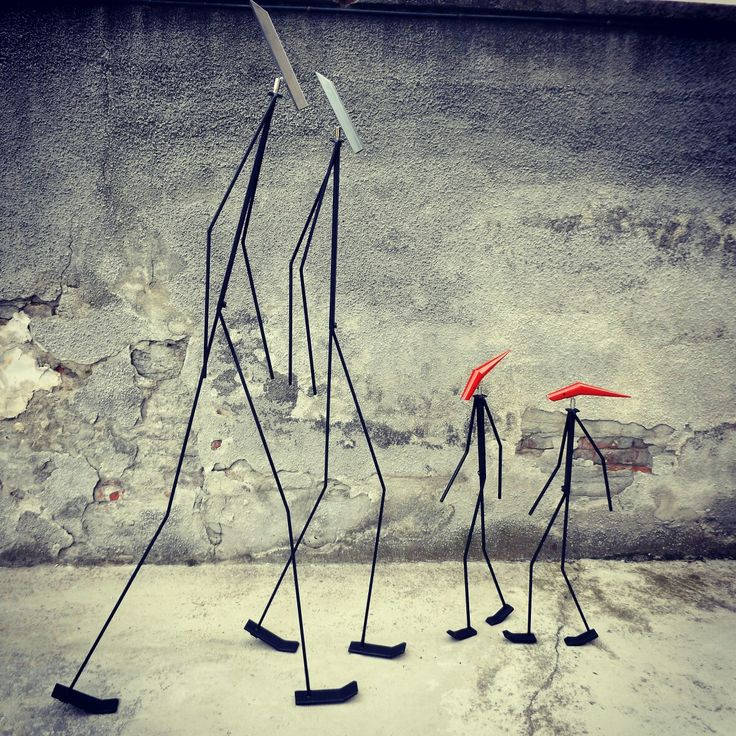 'Gli Esili' #sculture #luminosa #Artour-O #BPAW.it