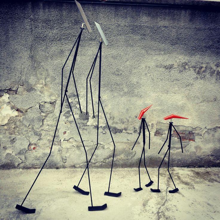 'Gli Esili' #sculture #luminosa #Artour-O #BPAW.it