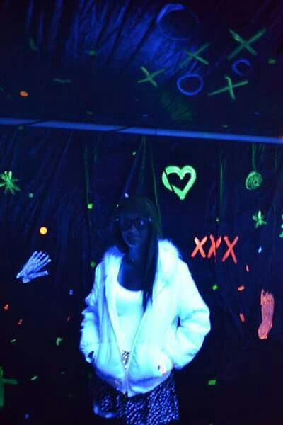 Glow in the dark clothes and decor