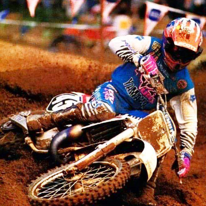 Damon Bradshaw 1989 Yamaha YZ 125