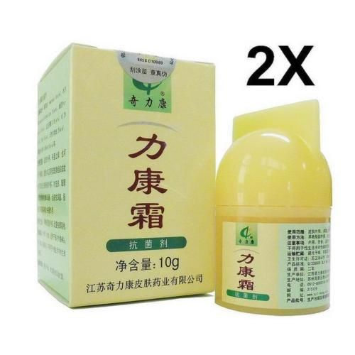2x-Herbal-medicine-Qi-Li-Kang-Cream-For-Skin-Problems-dermatitis-eczema-Itchy-R