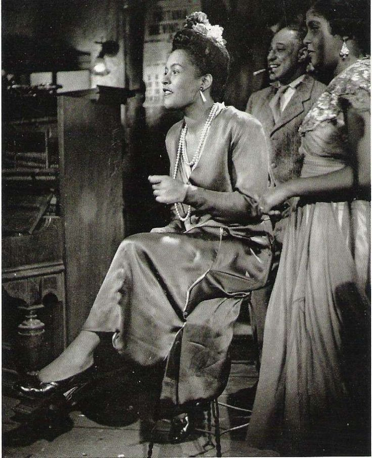 Billie Holiday, New Orleans ,1947, Photograph by Phil Stern