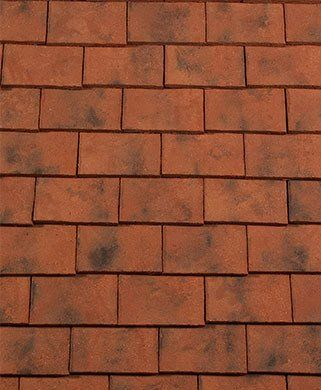 Redland Rosemary Craftsman Plain Tiles. Handcrafted roof tiles. Classic handmade style.