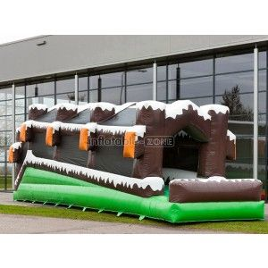 Good quality inflatable lagoon slide and paddling pool for sale infactory