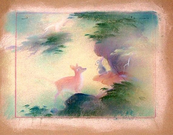 Tyrus Wong - The Art of Disney #bambi #disneyconceptart