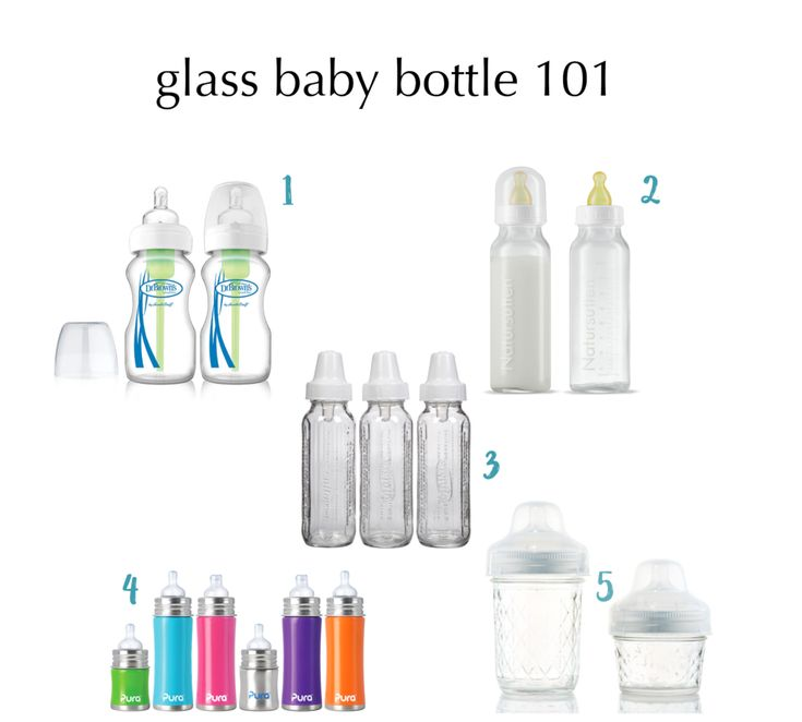 Read this before you buy plastic baby bottles.   Or before you do your baby registry!  Glass Baby Bottles rock!   #bpafree