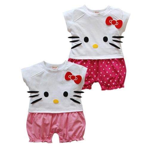 #Pagliaccetto #Neonata #HelloKitty http://www.allegribriganti.it/neonata/pagliaccetto-neonata-hello-kitty/
