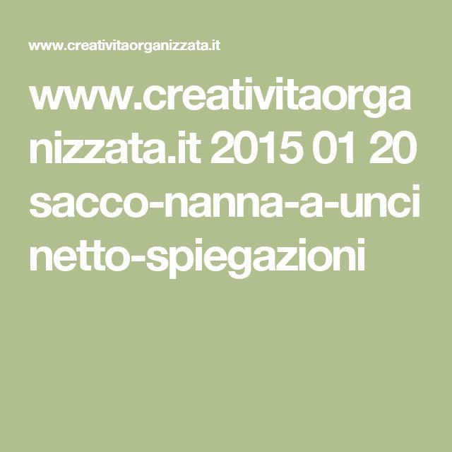 www.creativitaorganizzata.it 2015 01 20 sacco-nanna-a-uncinetto-spiegazioni