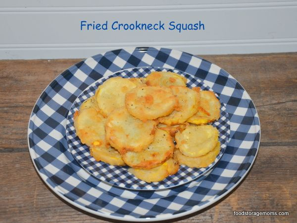Recipe For Fried Crookneck Squash - yep! This is what I grew up on! Reminds me of my sweet aunt who passed already :)