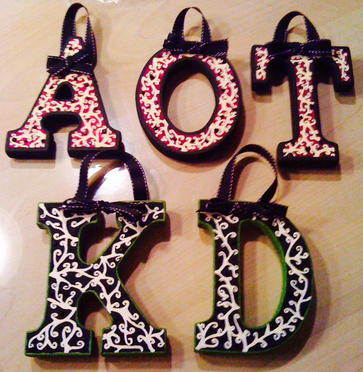 Sorority decor