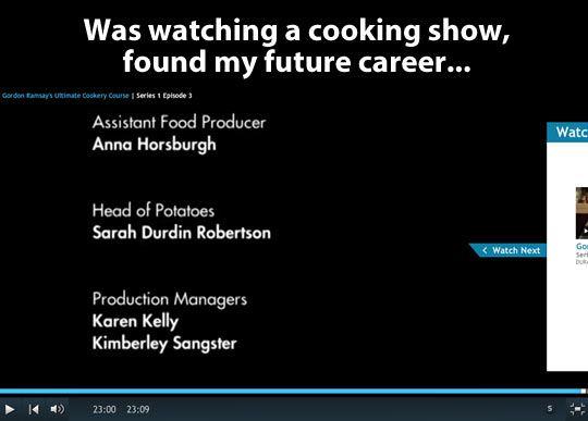 Found my future career…