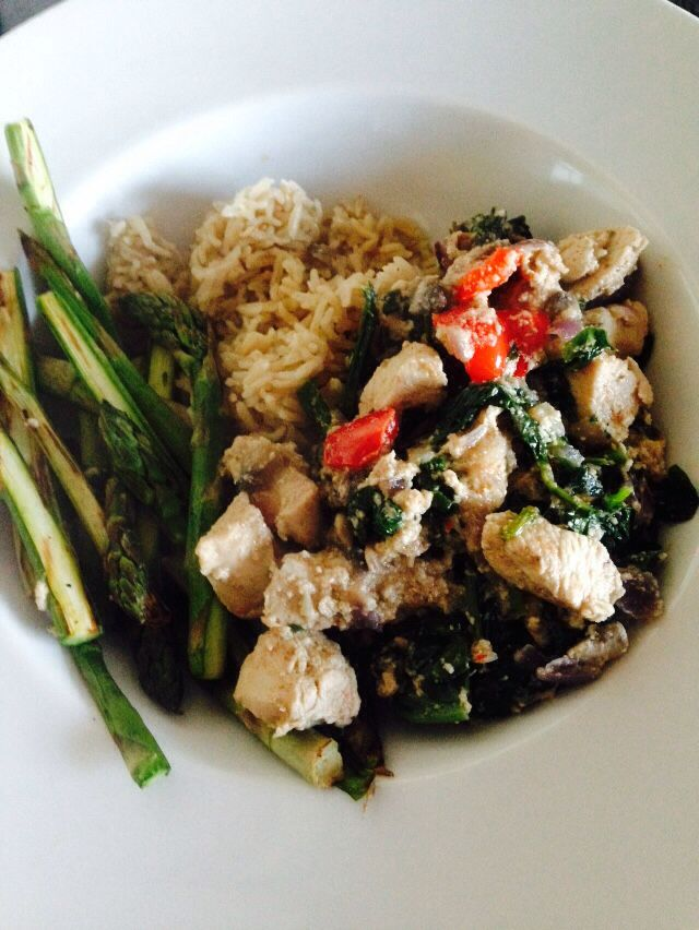 Creamy chicken and rice - 90 daysss plan - The Body Coach - Cycle 1