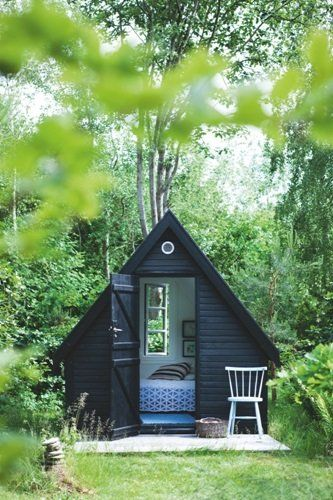 A dreamy garden retreat.