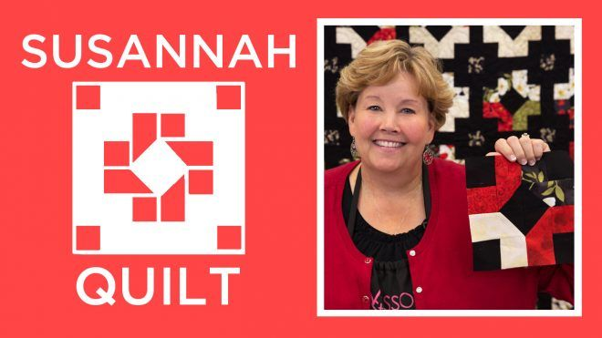 Susannah Quilt Tutorial