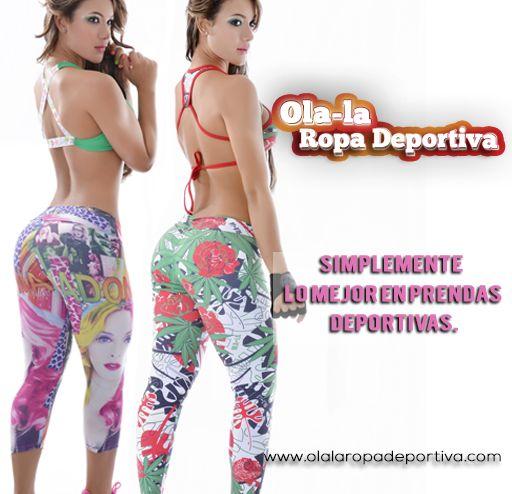 Simplemente lo mejor en prendas deportivas.  http://www.ola-laropadeportiva.com/  Contáctanos por WhatsApp al 318 8278826 Cali, Colombia.  #Cómodas #Deportivas #Atléticas #Bellas #Mujeres #Colombia