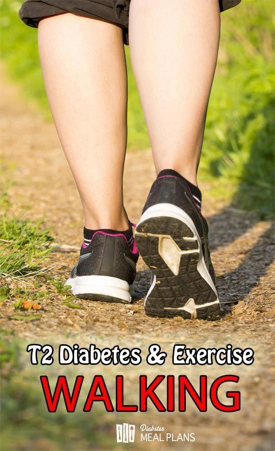 Type 2 Diabetes and Exercise: Walking and it&39;s benefits