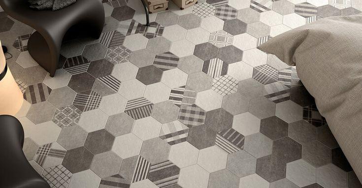 Terrakotta Csempecentrum - Fürdő / Hexatile Cement (Equipe)