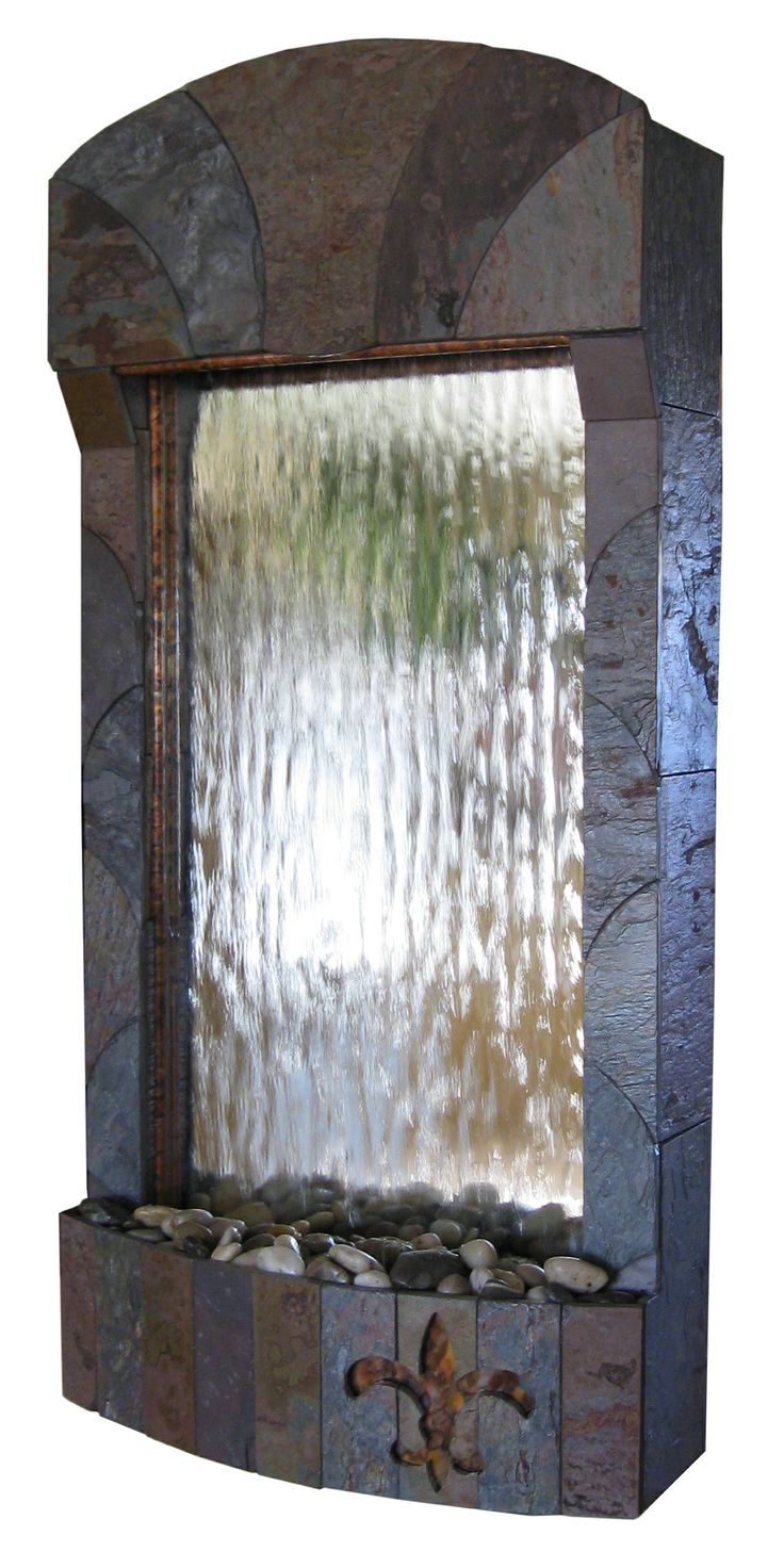 32 best indoor wall fountains features water walls for Wall water fountain