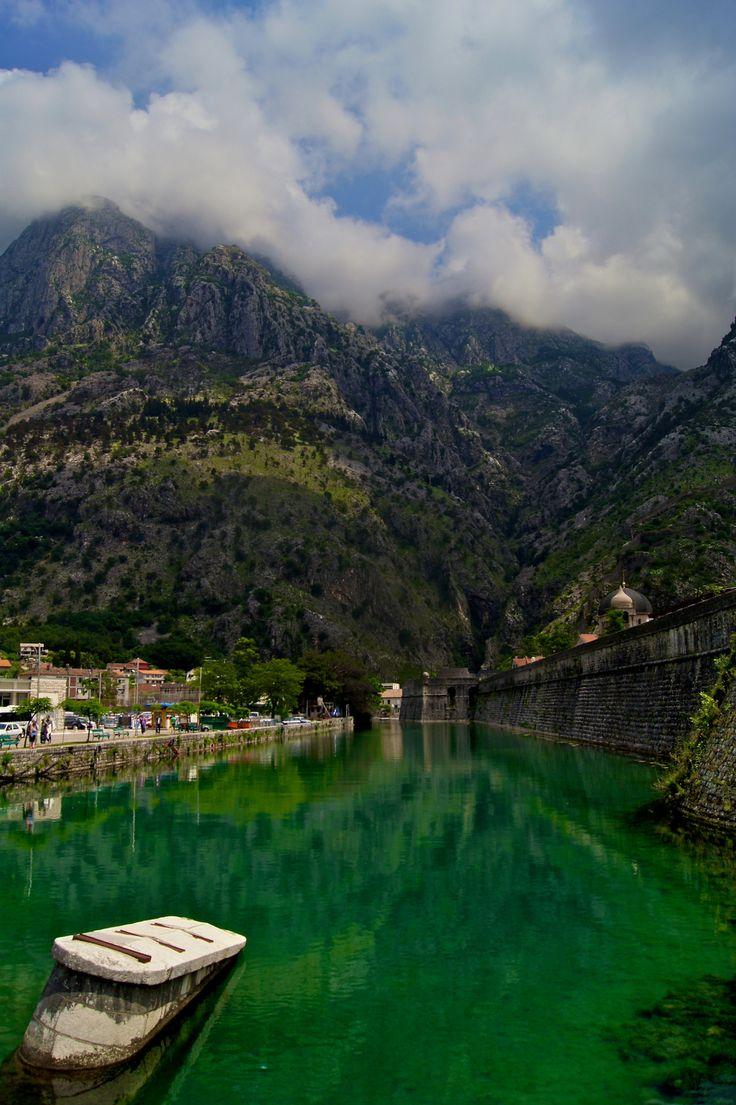 Moat of Kotor, Montenegro