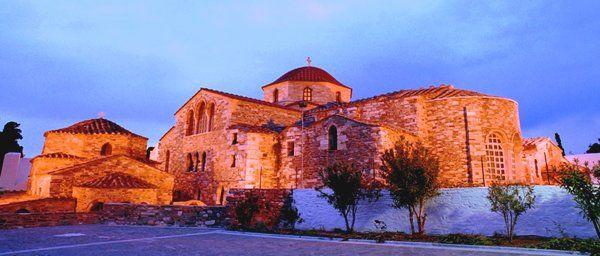 Madonna of the hundred doors, Paros.