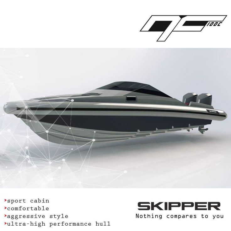 Skipper NC 100c is designed with proportions that give the boat a strong, expressive character and skillfully reflect her fast seaworthy hull. The boat's appearance and construction with emphasis on every detail.  Skipper-BSK