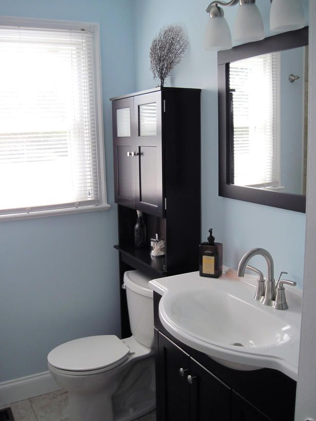 After: Contemporary & Clean - More Beautiful Bathroom Makeovers From Rate My Space on HGTV