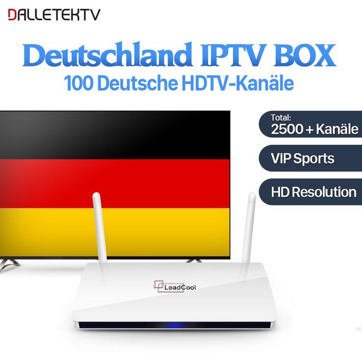 Dalletektv IPTV Germany Box Android 6.0 with IUDTV Subscription IPTV Italia Spanish UK Greek Sweden Europe VIP Sports IPTV Box