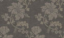 Tapet vinil gri argintiu floral PC 3102 Grand Deco Persian Chic