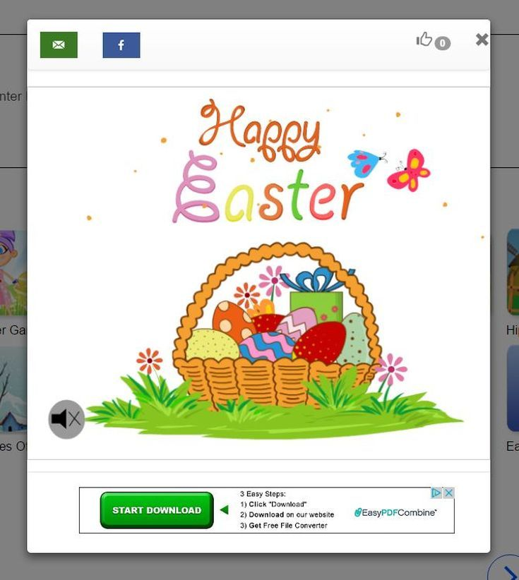 "Wish Your Loved Ones a ""Happy Easter"" With These Free Online Cards: Got Free Cards Free Easter Ecards"