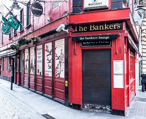 The Bankers Pub In Dublin [Dame Lane] [Streets Of Ireland Project]
