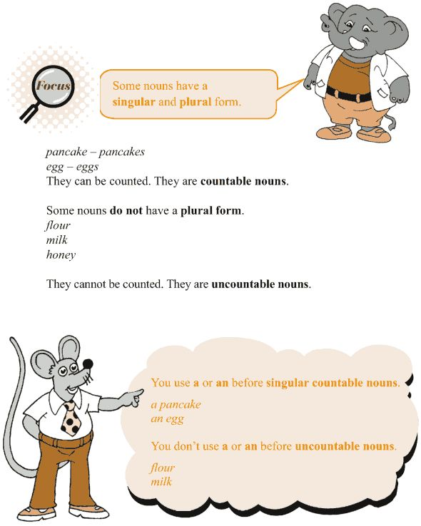 Grade 3 Grammar Lesson 3 Nouns countable and uncountable ...