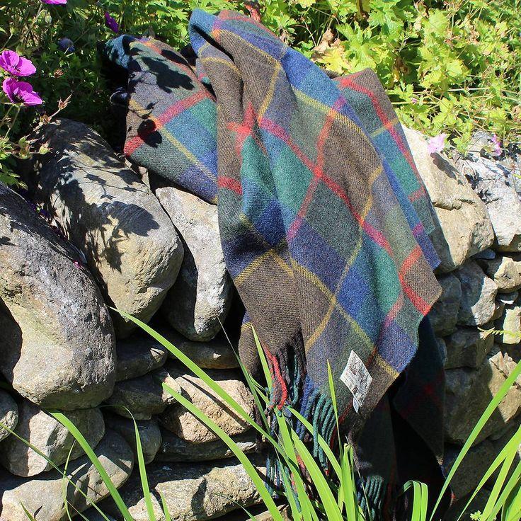 Our new Sunmer Dava Check Throw. #throw #blanket #purenewwool #knockandowoolmill #madeinscotland