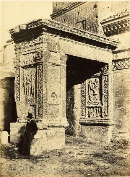 1854/55 Arco degli Argentieri