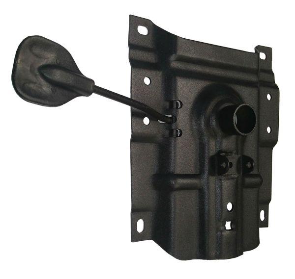Пиастра (с ушами для PVM) 170х200 мм