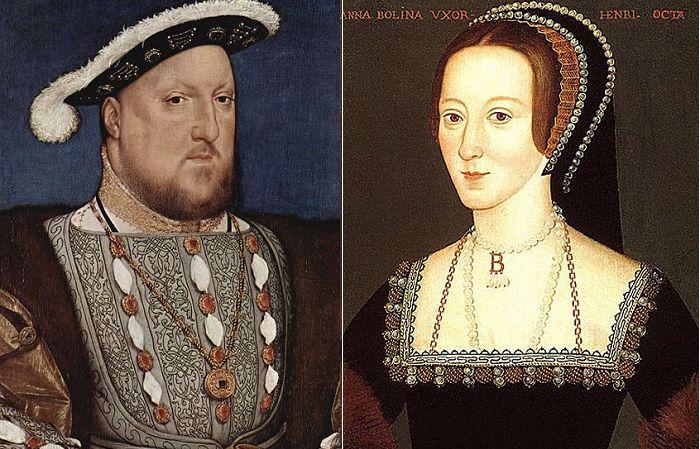 Генрих VIII и Анна Болейн. | Фото: cdn.history.com.