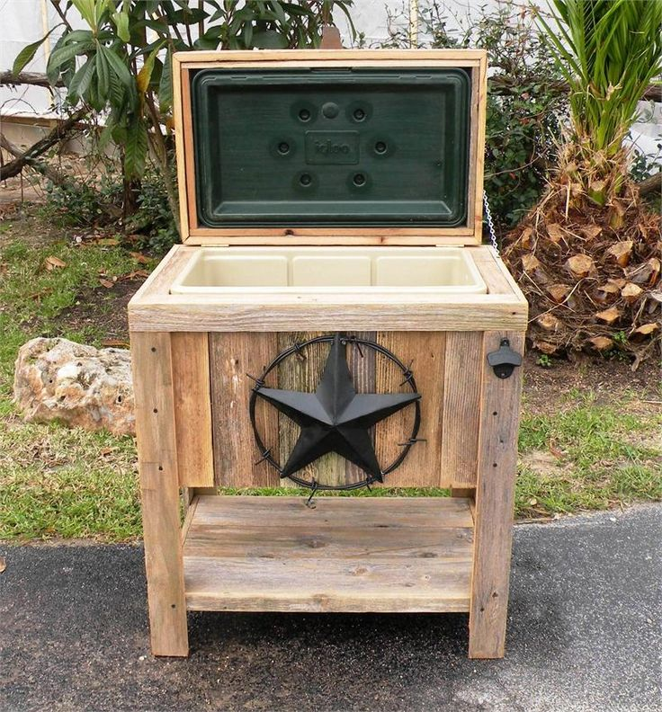 Wooden Ice Chest ~ Best images about ice chest ideas on pinterest wooden