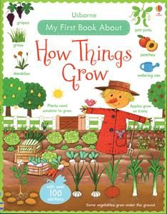 Spring is in full swing! This is a great illustrated book to share with your little one about how things grow. #plantlife #PreSchoolBookClub