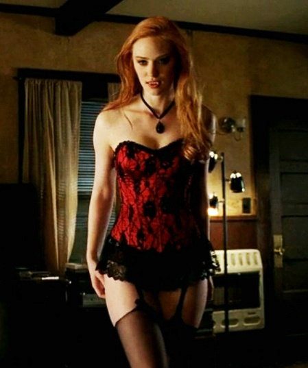 True Blood Jessica: Gothic vampire corset