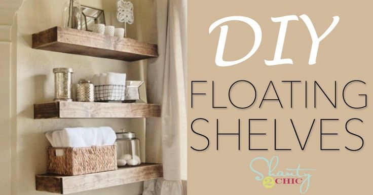 If you need to put in new shelving somewhere in your house, what do you do? I used to go out and buy shelves, but that isn't always the best solution. Sometimes you need to space your shelves out in such a way that you'd do better with some kind of free-floating solution. Lately I've been...